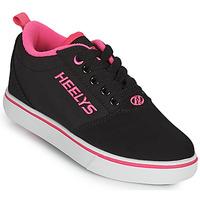 Schuhe Mädchen Rollschuhe Heelys PRO 20'S Schwarz / Rose