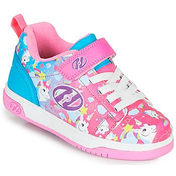 Schuhe Mädchen Rollschuhe Heelys DUAL UP X2 Rose / Blau