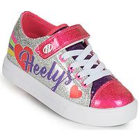 Schuhe Mädchen Rollschuhe Heelys SNAZZY X2 Silbern / Multicolor