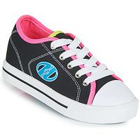 Schuhe Mädchen Rollschuhe Heelys CLASSIC X2 Schwarz / Rose / Blau