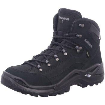 Schuhe Herren Wanderschuhe Lowa Sportschuhe RENEGADE GTX MID S 310943 0998 schwarz