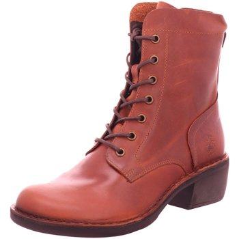 Schuhe Damen Stiefel Fly London Stiefeletten P211044002 braun
