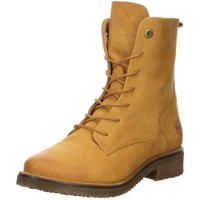 Schuhe Damen Stiefel Salamander Stiefeletten Elana Schnürstiefelette 32-49402-28 gelb