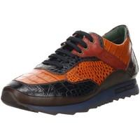 Schuhe Damen Sneaker Low Galizio Torresi Schnuerschuhe caiman blu-gial-bordo 418600-v18882 blau