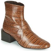 Schuhe Damen Low Boots Jonak BABOU Braun
