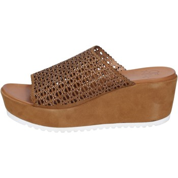 Schuhe Damen Sandalen / Sandaletten Femme Plus BK620 Braun