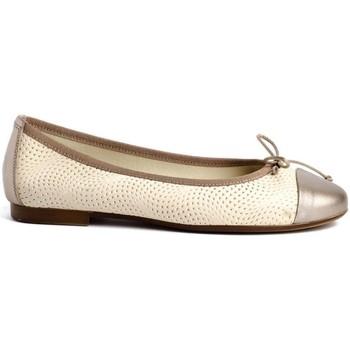 Schuhe Damen Ballerinas Zap-In Traveris 91401 Beige