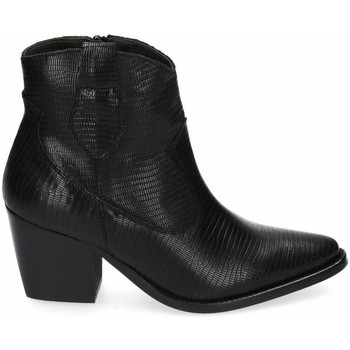 Schuhe Damen Low Boots Funny Lola 4150 Schwarz