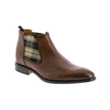 Schuhe Herren Boots André CABALLO Cognac