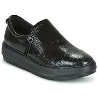 Schuhe Damen Sneaker Low Geox D KAULA Schwarz