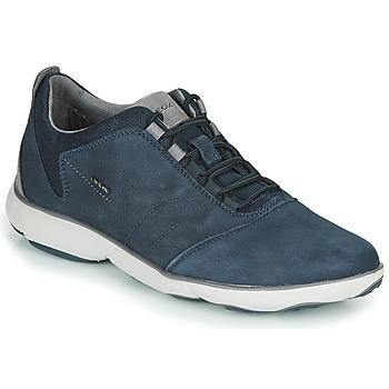 Schuhe Herren Sneaker Low Geox U NEBULA Blau