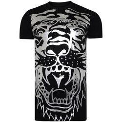 Kleidung Herren T-Shirts Ed Hardy - Big-tiger t-shirt Schwarz