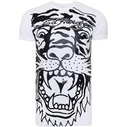 Kleidung Herren T-Shirts Ed Hardy - Big-tiger t-shirt Weiss