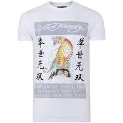 Kleidung Herren T-Shirts Ed Hardy - Mt-tiger t-shirt Weiss