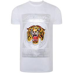 Kleidung Herren T-Shirts Ed Hardy - Tile-roar t-shirt Weiss