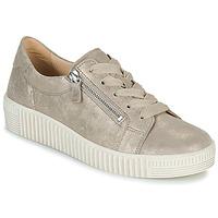 Schuhe Damen Sneaker Low Gabor 6333462 Beige / Gold