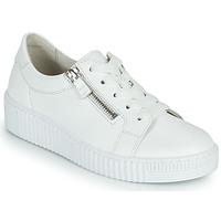 Schuhe Damen Sneaker Low Gabor 6333421 Weiss