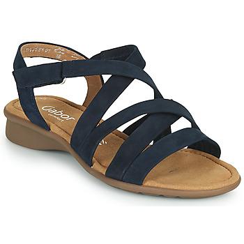 Schuhe Damen Sandalen / Sandaletten Gabor 6606636 Blau