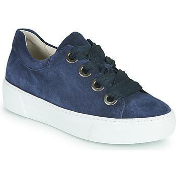 Schuhe Damen Sneaker Low Gabor 6646446 Marine