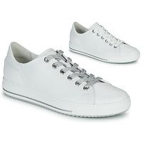 Schuhe Damen Sneaker Low Gabor 6651550 Weiss