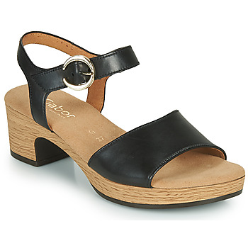 Schuhe Damen Sandalen / Sandaletten Gabor 6272157 Schwarz
