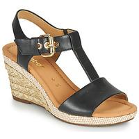 Schuhe Damen Sandalen / Sandaletten Gabor 6282457 Schwarz