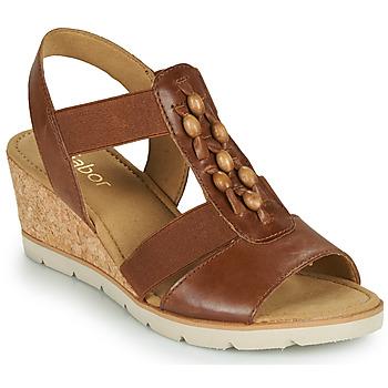 Schuhe Damen Sandalen / Sandaletten Gabor 6575024 Braun