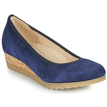 Schuhe Damen Ballerinas Gabor 6264146 Blau