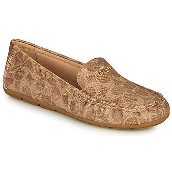 Schuhe Damen Slipper Coach MARLEY DRIVER Braun