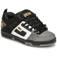 Schuhe Sneaker Low DVS COMANCHE Schwarz / Weiss