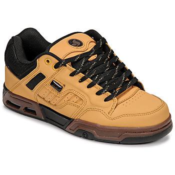 Schuhe Sneaker Low DVS ENDURO HEIR Gelbbraun / Schwarz
