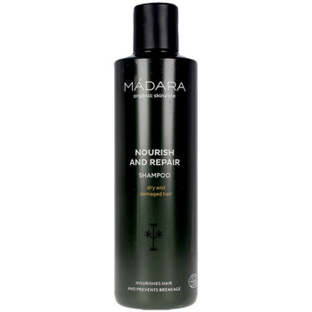 Beauty Shampoo Mádara Organic Skincare Nourish And Repair Shampoo