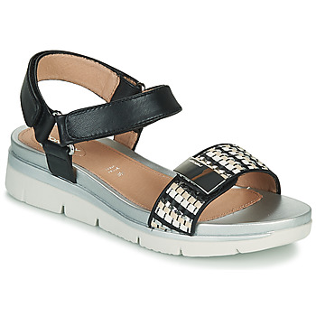 Schuhe Damen Sandalen / Sandaletten Stonefly ELODY 11 Schwarz