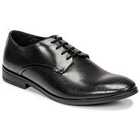 Schuhe Herren Derby-Schuhe Clarks STANFORD WALK Schwarz