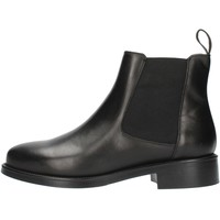 Schuhe Damen Low Boots Frau 98L3 Schwarz