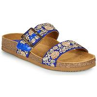 Schuhe Damen Pantoffel Desigual ARIES EXOTIC Blau