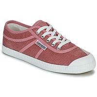 Schuhe Damen Sneaker Low Kawasaki CORDUROY Rose
