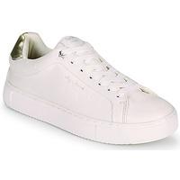 Schuhe Damen Sneaker Low Pepe jeans ADAMS MOLLY Weiss / Gold
