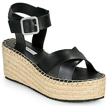 Schuhe Damen Sandalen / Sandaletten Pepe jeans WITNEY ELLA Schwarz