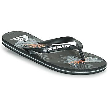Schuhe Herren Zehensandalen Quiksilver MOLOKAI EVERYDAY Schwarz