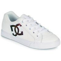 Schuhe Damen Skaterschuhe DC Shoes CHELSEA J Weiss / Rose