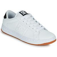 Schuhe Herren Skaterschuhe DC Shoes STRIKER Weiss / Schwarz