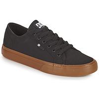 Schuhe Herren Skaterschuhe DC Shoes MANUAL Schwarz