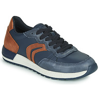 Schuhe Jungen Sneaker Low Geox J ALBEN BOY Blau