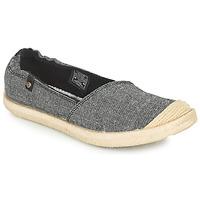 Schuhe Damen Leinen-Pantoletten mit gefloch Roxy CORDOBA Grau