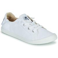 Schuhe Damen Sneaker Low Roxy BAYSHORE III Weiss