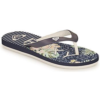 Schuhe Mädchen Zehensandalen Roxy TAHITI VII G Marine