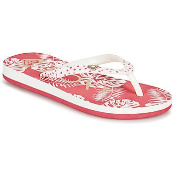 Schuhe Mädchen Zehensandalen Roxy PEBBLES VII G Rose