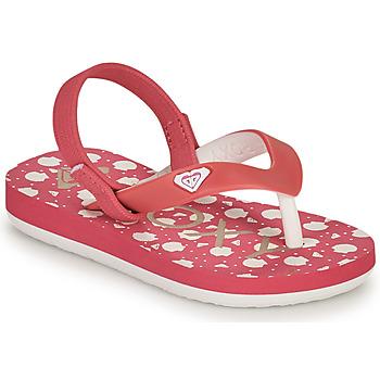 Schuhe Mädchen Zehensandalen Roxy TW TAHITI VI Rose