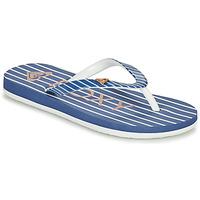 Schuhe Mädchen Zehensandalen Roxy PEBBLES VII G Marine
